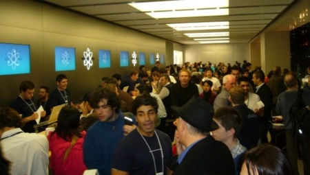 La genius bar de la Apple Store de Sydney
