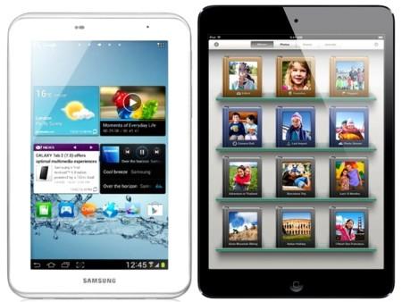 Apple sigue mandando en el mercado de los tablets con Samsung recortando, según IDC