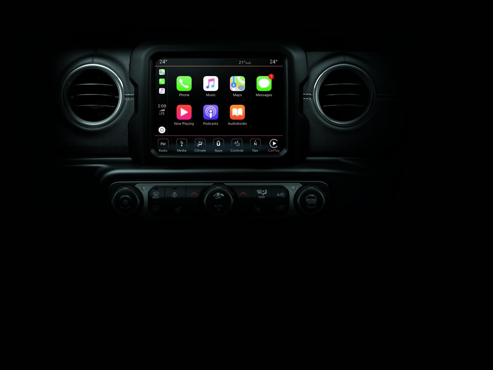 Foto de Jeep Wrangler interiores y detalles (15/16)