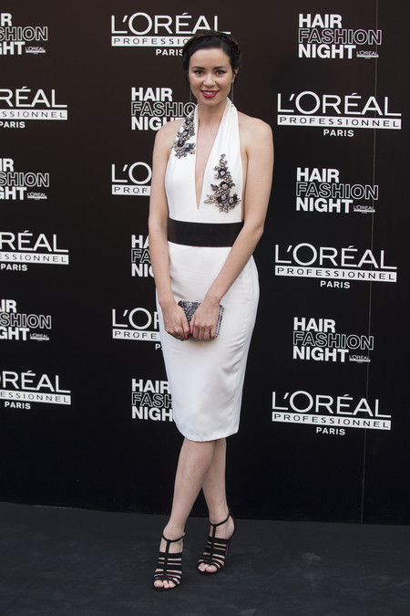 hair fashion night loreal paris madrid celebrities famosas Dafne Fernandez