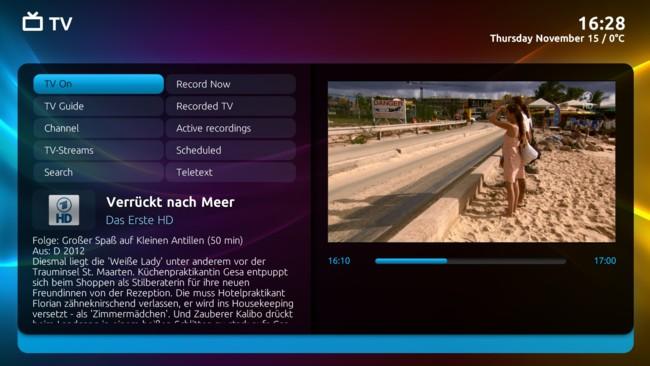 Mediaportal Titan Feature Tv