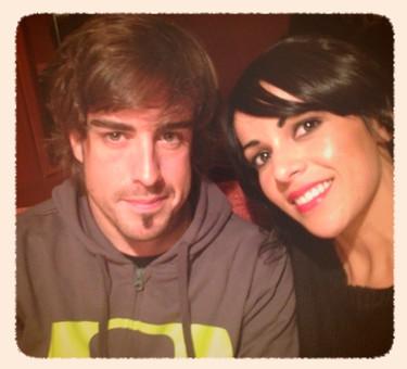 A ver si lo que quiere Alonso es reconciliarse con Raquel del Rosario