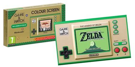Nintendo Game Watch The Legend Of Zelda 2