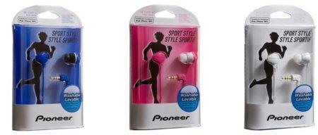 Pioneer también nos ofrece sus auriculares para deportistas
