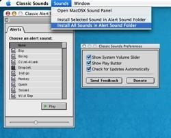 Classic Sounds: Los sonidos de anteriores Mac OS, en Mac OS X