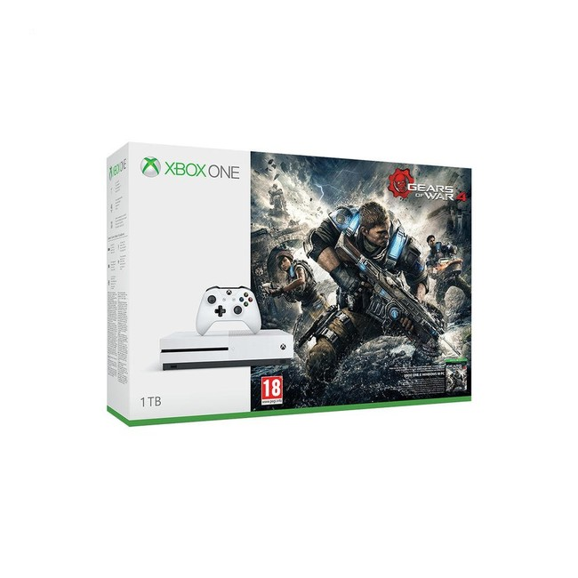 Xbox One S 1 TB + Gears Of War 4