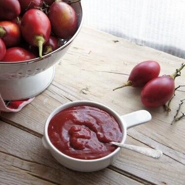 Salsa de tamarillos o tomate árbol: receta con sabor peruano para acompañar carnes y pescados