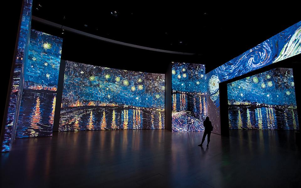Van Gogh Alive: la exposición que fusiona el arte y la tecnología con 3,000 imágenes en alta definición...