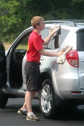 Lavar coche mantener pintura