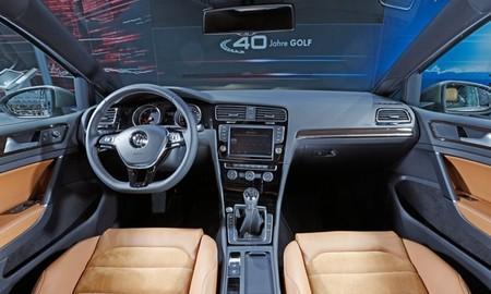 Volkswagen Golf Edition 40 aniversario interior