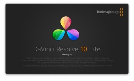 DaVinci Resolve 10 ya disponible