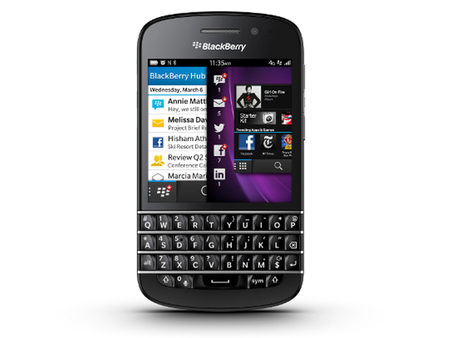 BlackBerry Q10 ha llegado
