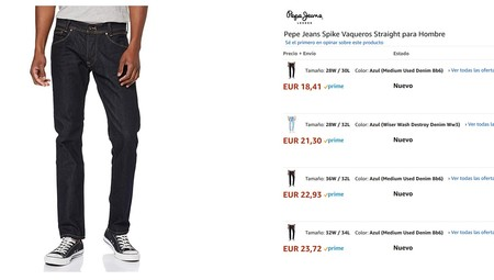 Chollos En Tallas Sueltas De Pantalones Camisetas Y Sudaderas De Marcas Como Levi S Pepe Jeans Adidas O Jack Jones En Amazon