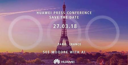 Huawei P20, sigue la presentación en directo y en vídeo