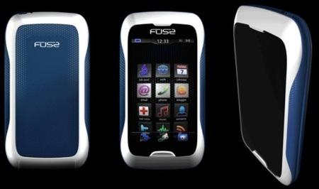 Synaptics muestra su concepto de móvil: Fuse