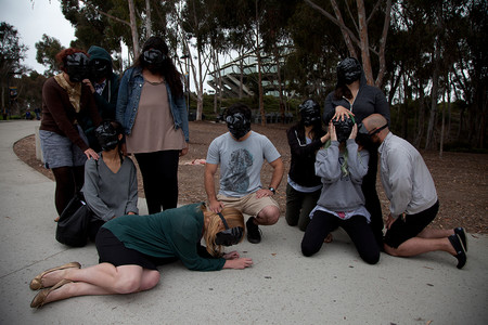 Black Mask Tableau Vivant 1