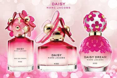 Regala besos por San Valentín con la nueva colección de fragancias 'Daisy Kiss' de Marc Jacobs