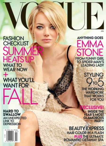 Emma Stone Vogue USA 2012