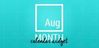 Month: The Calendar Widget, más de 70 hermosos widgets de calendario para tu Android