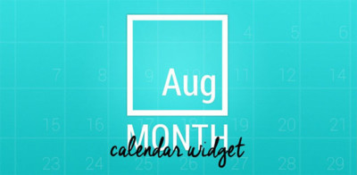 Month: The Calendar Widget, más de 70 hermosos widgets de calendario para tu Android