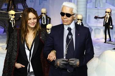 Karl Lagerfeld logra lo que siempre quiso: dar miedo