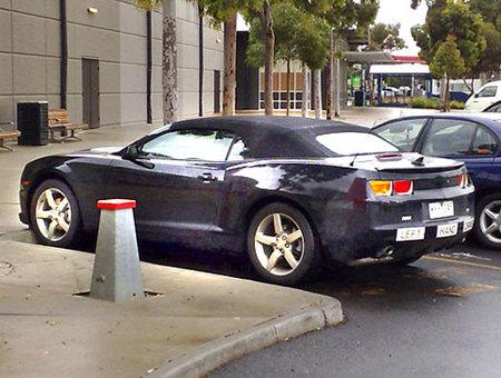 El Chevrolet Camaro Convertible ya está de pruebas por Australia