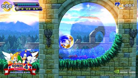 Sonic 4 Episodio 2 llegará primero a los Nvidia Tegra 3 en exclusiva