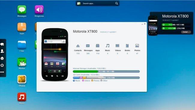 Con Airdroid podemos gestionar nuestro Android desde el navegador