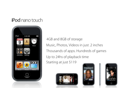 iPod Nano Touch 2