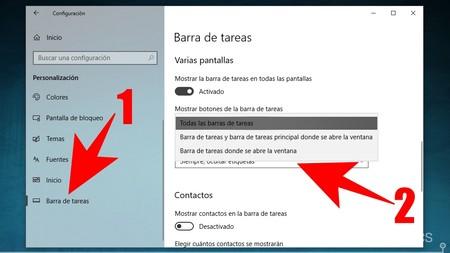 Config De Barra De Tareas