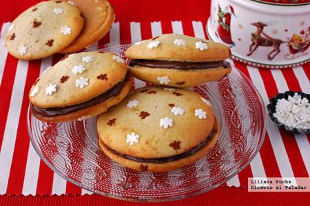 Whoopies rellenos de chocolate: receta fácil para las tardes de horno navideñas