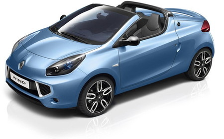 Primeras imágenes del Renault Wind