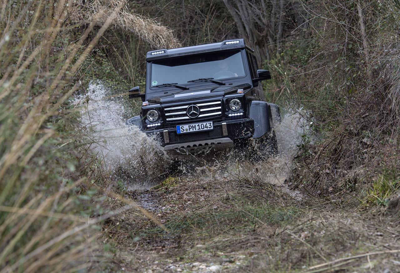 Foto de Mercedes-Benz G 500 4x4², toma de contacto (68/127)