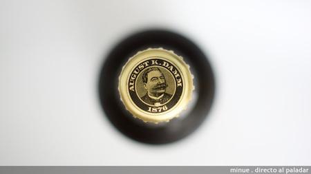 Cata de cerveza Ak Damm - chapa