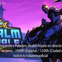 Streaming de Paladins: Realm Royale a las 19:00h (las 12:00h en CDMX)