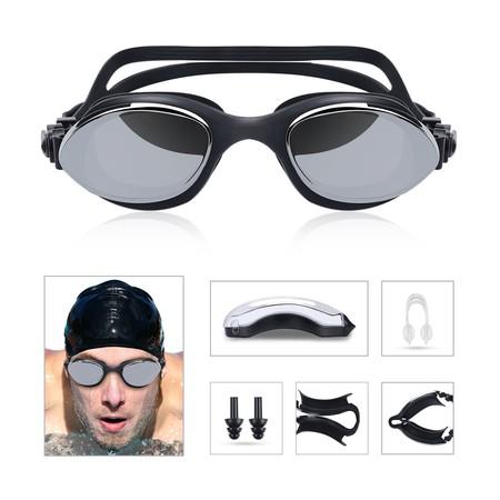 Cupón de descuento de 4 euros en las gafas de natación HiHill con protección UV 400: aplicádolo cuestan 4,99 euros en Amazon