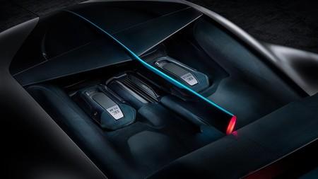 Bugatti Divo motor