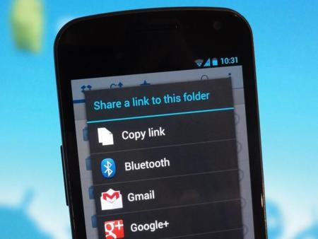 Dropbox actualiza app