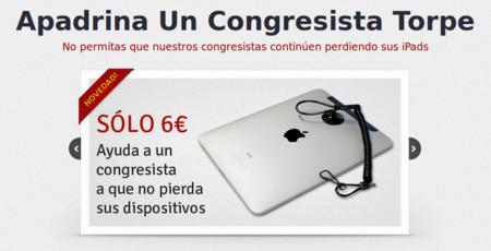 'Apadrina Un Congresista Torpe', por la resolución del misterio de los iPads que se pierden
