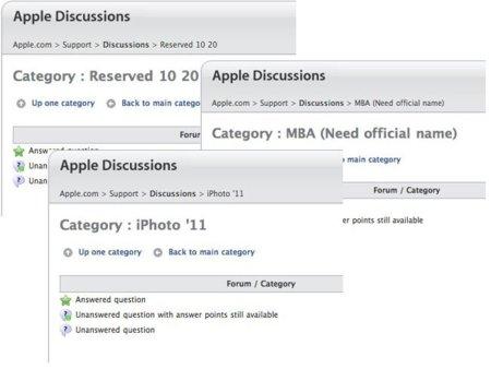 Los foros de discusión de Apple revelan las posibles novedades de esta tarde