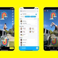 """Spotlight es el """"TikTok de Snapchat"""": una red anónima, sin comentarios y con un millón de dólares al día a repartir entre los vídeos más populares"""