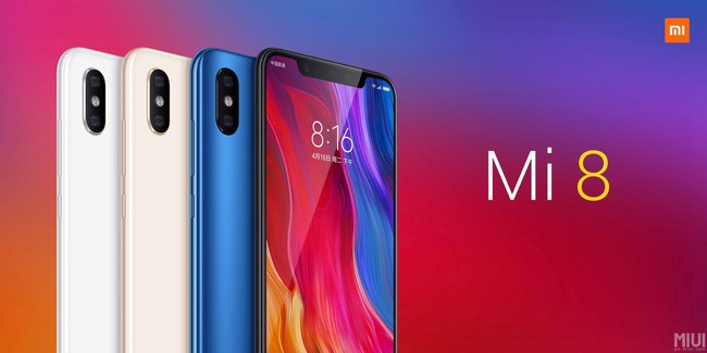 Xiaomi Mi 8 Series: tres modelos con pantalla AMOLED, notch y doble cámara con inteligencia artificial