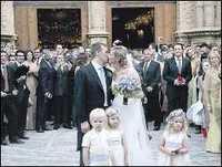 Se casó Alejandra Prat