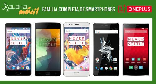 Así queda el catálogo completo de smartphones OnePlus