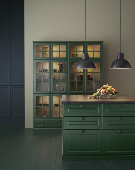 Cocina Ikea Verde. tendencias colores