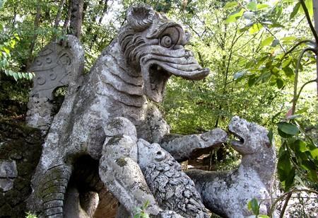 Parque monstruos Bomarzo