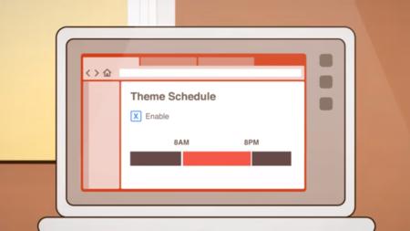 El navegador Vivaldi ahora te deja programar distintos temas para diferentes horas del día