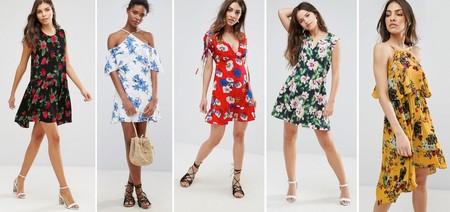 Vestidos Flores Rebajas 3