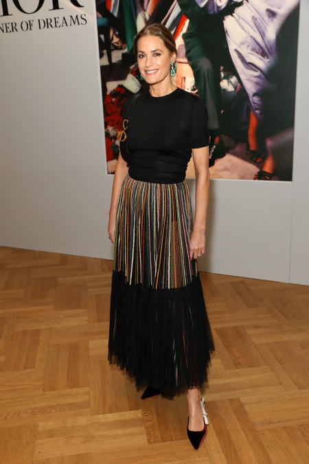 Yasmin Le Bon At The Christian Dior Exhibition In London