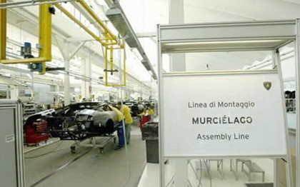 Visita a la fábrica de Lamborghini